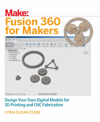 Fusion 360 book by Lydia Sloan Cline