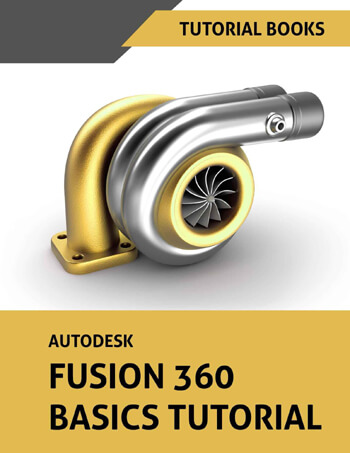 Fusion 360 book by Tutorial book